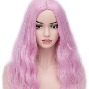 "Lolita 17"" Pink Cosplay Synthetic Wig *NWT*"